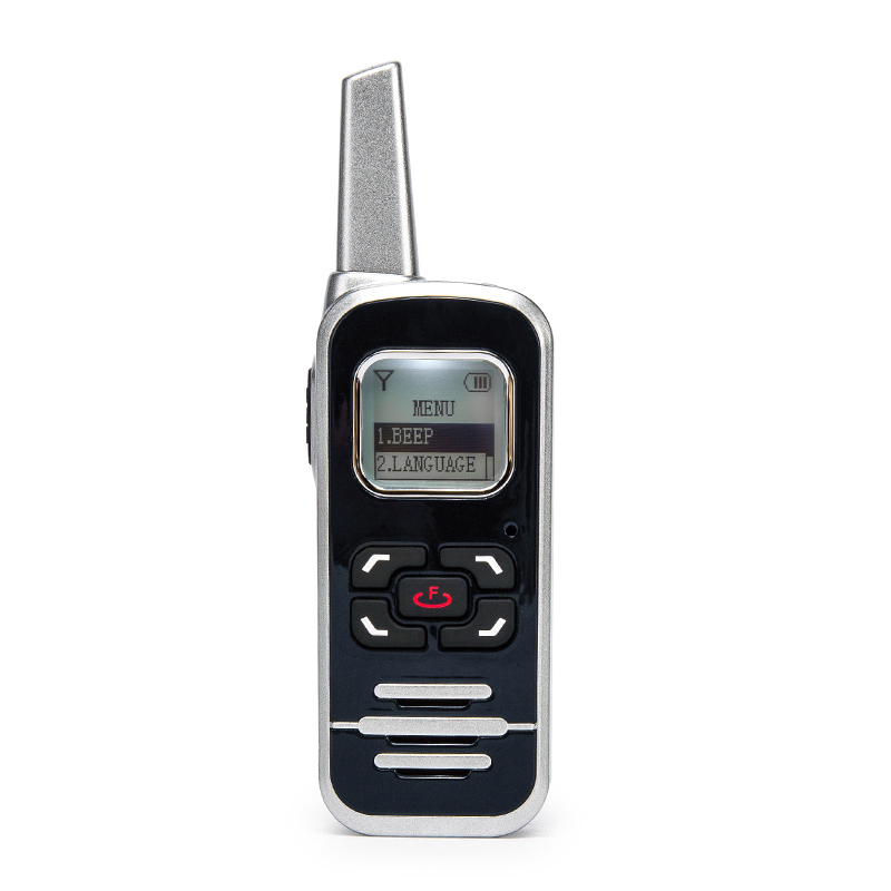 New mini walkie talkie with bluetooth function go on the market